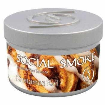 Купить Табак Social Smoke - Cinnamon Roll 250 г